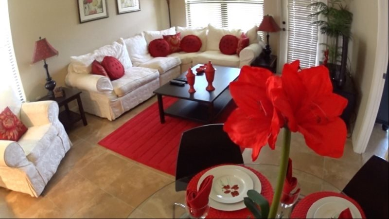 Beautifully Decorated 3 Bed 3 Bath Condo in Bella Piazza. 912CP-211 - Image 1 - Kissimmee - rentals