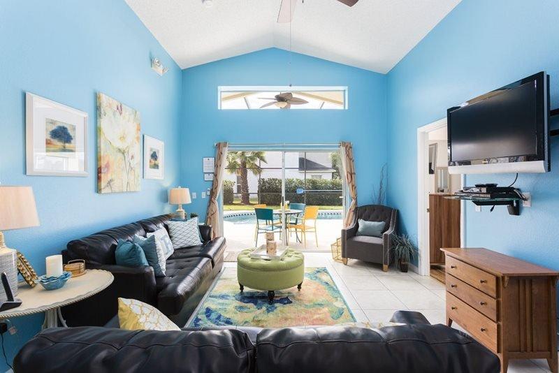 4 Bedroom 3 Bath Pool Home Near Disney. 4600FC - Image 1 - Orlando - rentals