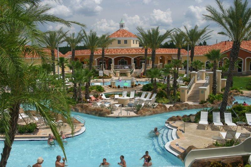 4 Bedroom 3.5 Bath Townhome In Fantastic Resort Community. 3500CA - Image 1 - Davenport - rentals