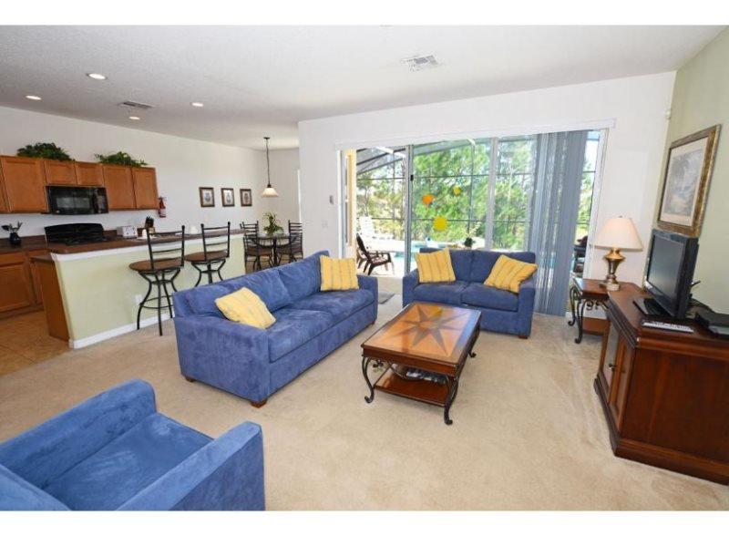 Beautiful 5 Bedroom Pool Home In Aviana Gated Resort. 553VD - Image 1 - Kissimmee - rentals