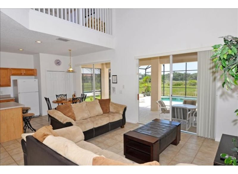 Beautiful 6 Bedroom Pool Home In Gated Resort Near Disney. 246VD - Image 1 - Kissimmee - rentals