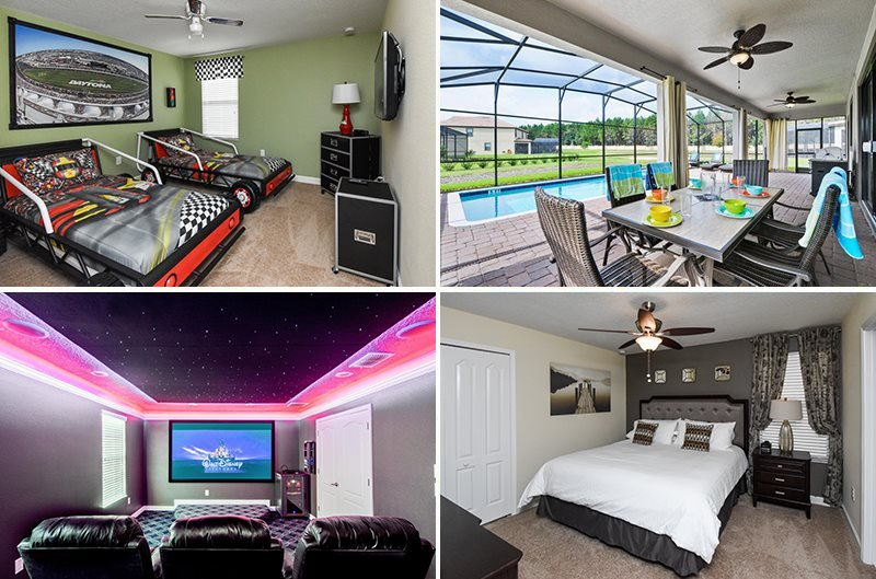8 Bedroom ChampionsGate Golf Resort Pool Home. 1461RFD - Image 1 - Kissimmee - rentals