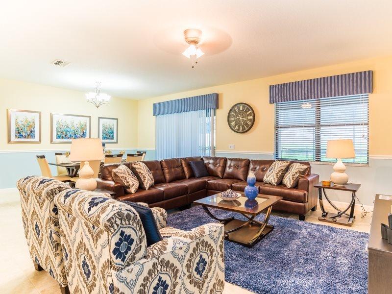 ChampionsGate Golf Resort 9 Bedroom Pool Home. 1469RFD - Image 1 - Kissimmee - rentals