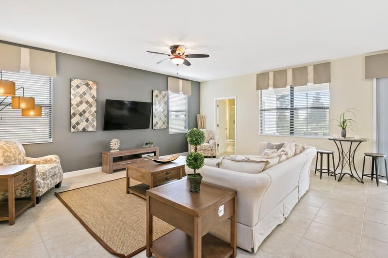 Luxurious 6 Bedroom ChampionsGate Golf Resort Pool Home. 1413RF - Image 1 - Kissimmee - rentals