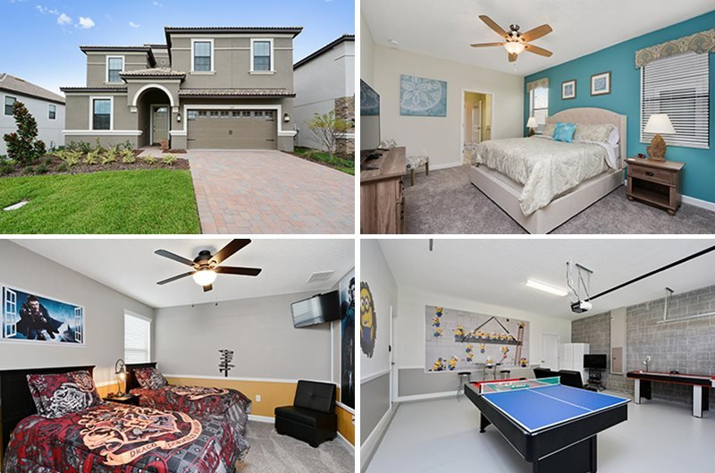 Custom Furnished 8 Bedroom Pool Home in Fantastic Golf Resort. 1491RFD - Image 1 - Kissimmee - rentals