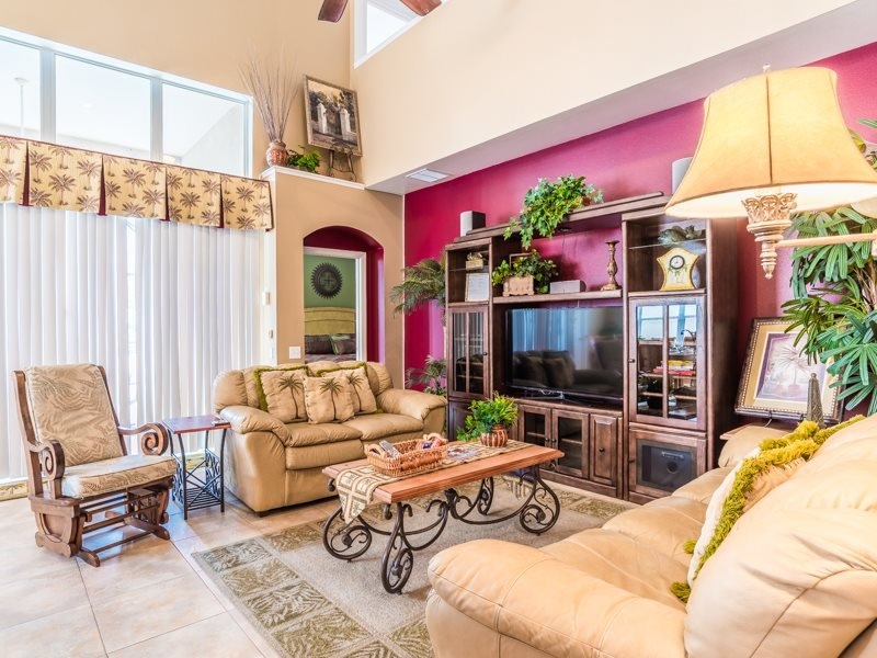 6 Bedroom 3.5 Bath Pool Home In Gated Windsor Hills Resort. 2248WPW - Image 1 - Orlando - rentals