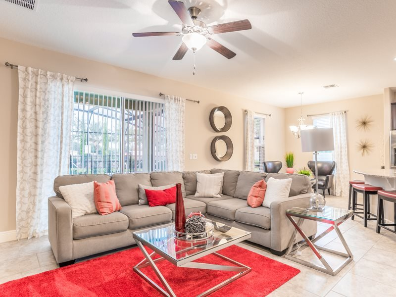 Exquisite 6 Bedroom 3.5 Bath Pool Home Close to the Parks. 4312AC - Image 1 - Kissimmee - rentals