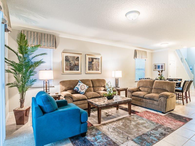 Beautiful 6 bedroom 4.5 Bathroom Pool Home in Windsor at Westside. 2117MW - Image 1 - Orlando - rentals