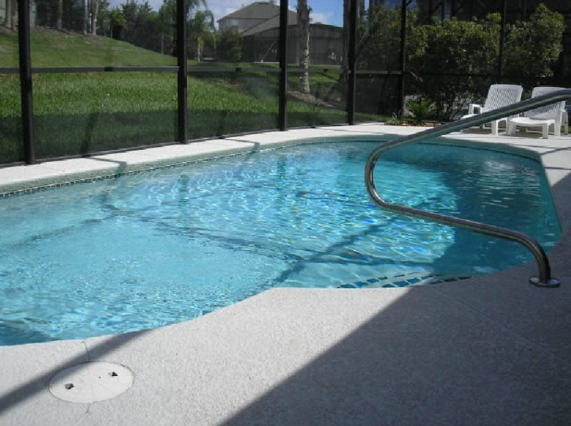 3 Bedroom Florida Vacation Home with South Facing Pool. 357OD - Image 1 - Davenport - rentals