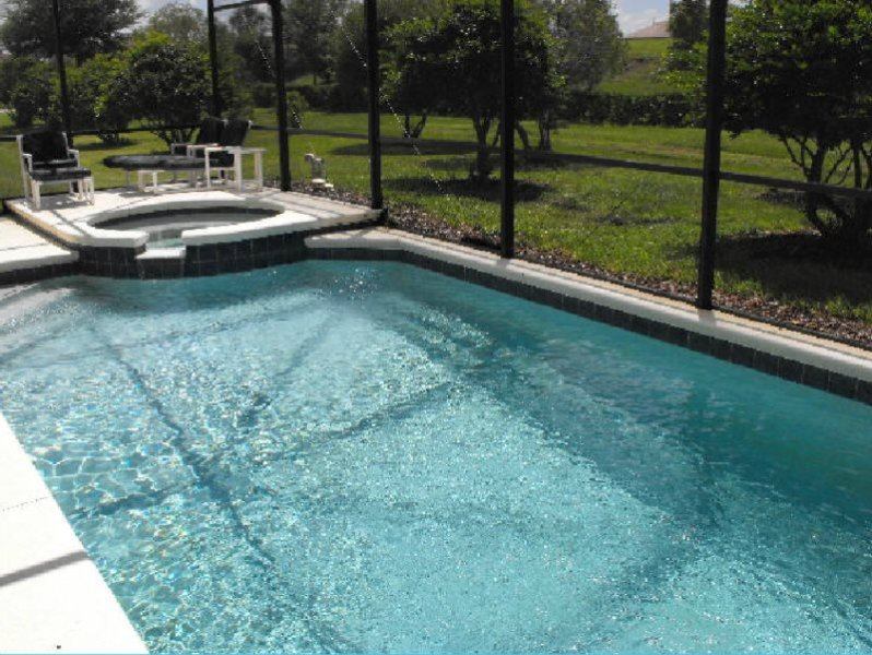 4 Bedroom Florida Vacation Pool Home with Spa. 1613MSD - Image 1 - Four Corners - rentals
