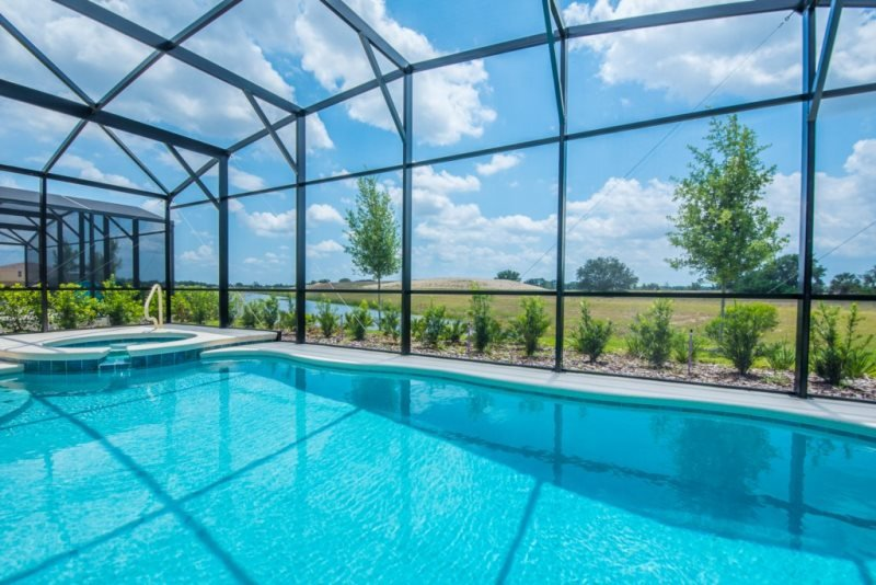 Lake View 6 Bedroom 4.5 Bath Pool Home in Solterra. 5340OA - Image 1 - Davenport - rentals