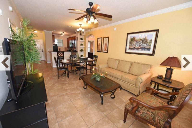 4 Bedroom 3 Bath Condo in Bella Piazza Resort. 904CP-533 - Image 1 - Davenport - rentals