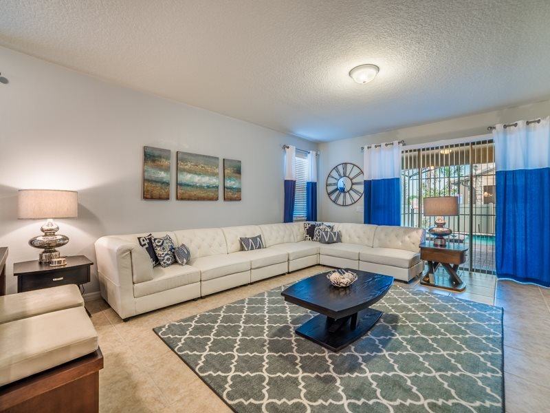 Stunning 6 Bedroom 5 Bath Windsor at Westside Resort Pool Home. 8904RS - Image 1 - Four Corners - rentals