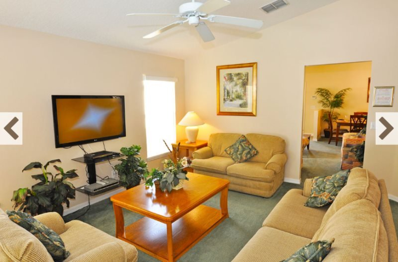 4 Bedroom 3 Bath Disney Area Pool Home. 701SRD - Image 1 - Loughman - rentals