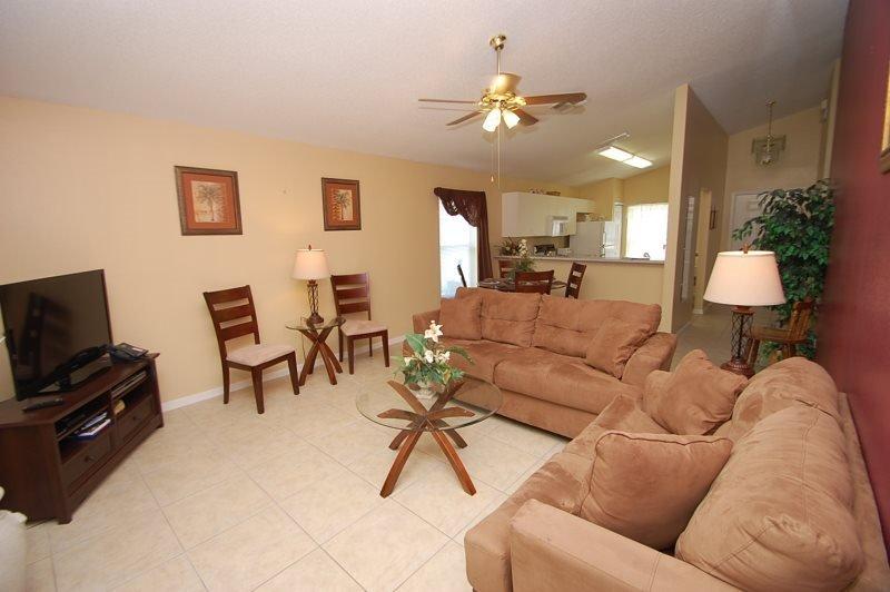 Westridge 4 Bedroom 2 Bathroom Pool Home. 114DW - Image 1 - Orlando - rentals