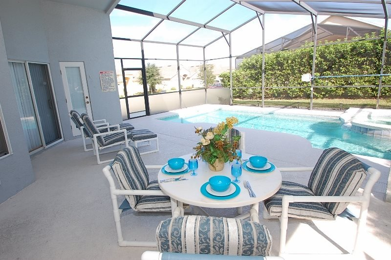 Pet Friendly 4 Bed 3 Bath Private Pool Home near Disney. 519OBC - Image 1 - Four Corners - rentals