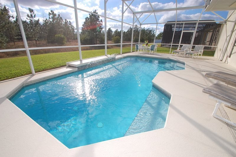5 Bedroom 3 Bath Pool Home in Gated Community Near The Parks. 414HC - Image 1 - Orlando - rentals