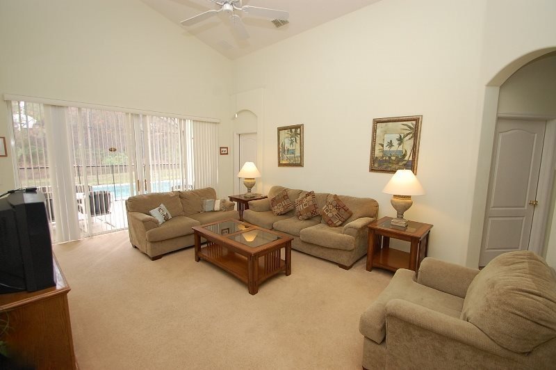 4 Bedroom Pool Home in Gated Community Near Disney. 671TH - Image 1 - Orlando - rentals