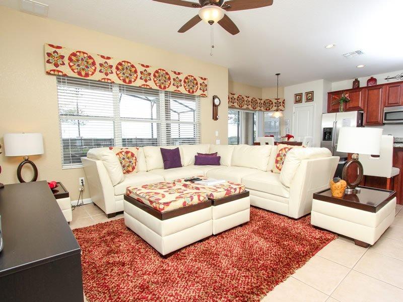 6 Bedroom 4 Bath Pool Home in Kissimmee Resort. 2582AB - Image 1 - Orlando - rentals