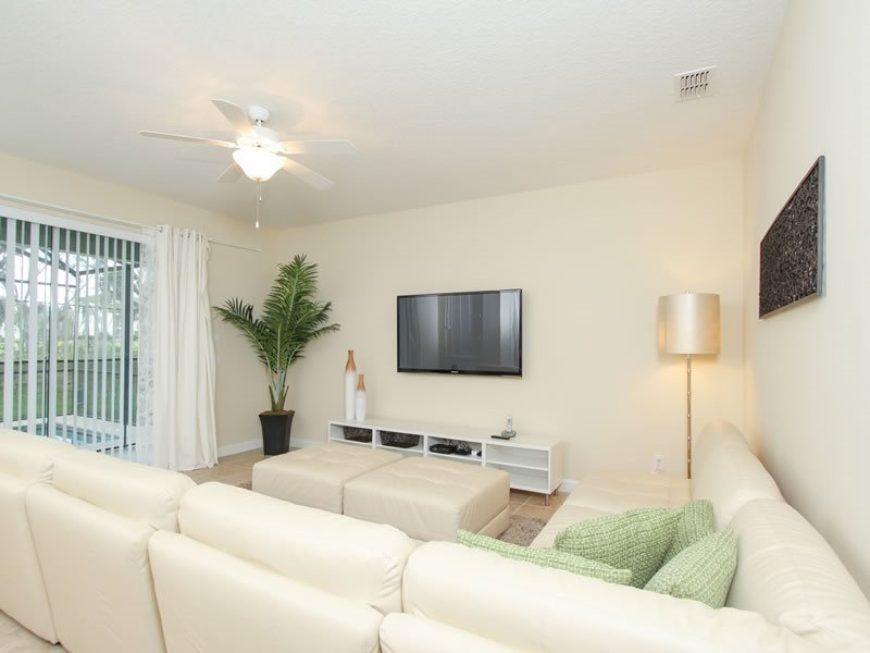Beautiful 6 Bedroom 5 Bath Resort Pool Home. 8848CP - Image 1 - Orlando - rentals