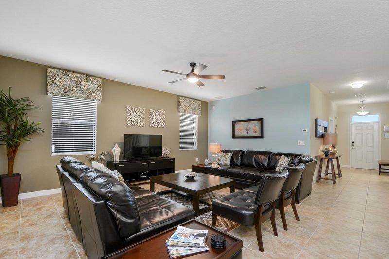 Luxurious 6 Bedroom 6 Bath Pool Home In Champions Gate Golf Community. 1458MVD - Image 1 - Orlando - rentals