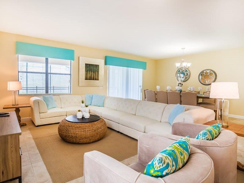 9 Bedroom Pool Home In ChampionsGate Golf Resort. 1450RFD - Image 1 - Orlando - rentals
