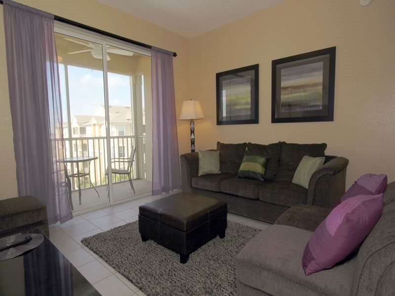 Beautiful 3 Bedroom 2 Bath Condo with a View. 2813AL-403 - Image 1 - Orlando - rentals