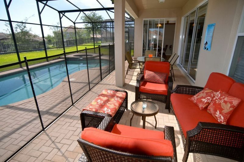 Lovely 5 Bedroom 4.5 Bath Pool Home in the Windsor Hills Resort. 7783TB - Image 1 - Four Corners - rentals