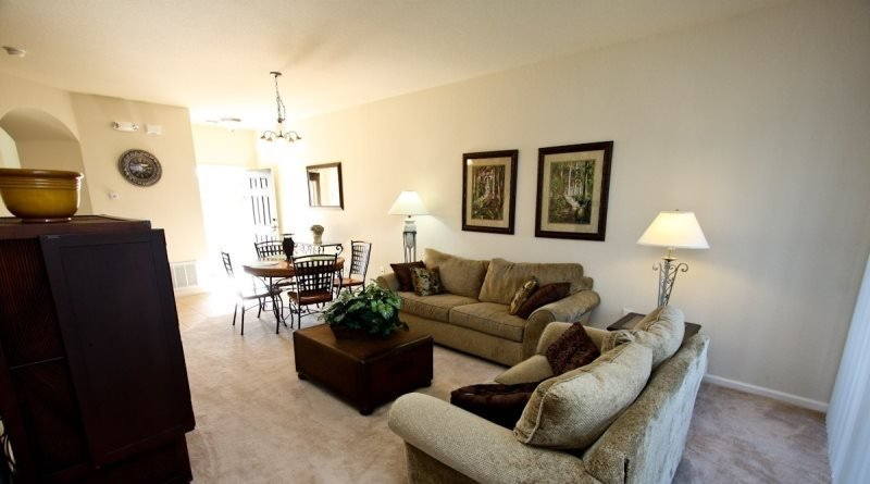 Corner 3 Bedroom 3 Bathroom Town Home In Trafalgar Village Resort. 2633OKC - Image 1 - Orlando - rentals