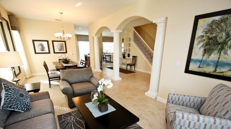 Executive 5 Bedroom 4 Bathroom Luxury Home Near Disney In Gated Community - Image 1 - Orlando - rentals