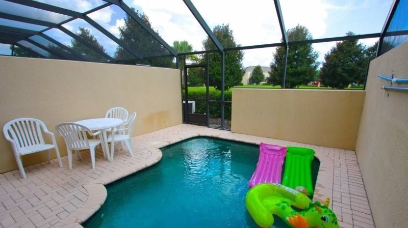 3 Bedroom 3 Bathroom Town Home In Windsor Hills. 7676FS - Image 1 - Orlando - rentals
