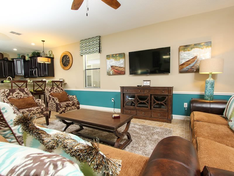 Incredible 7 Bed 5 Bath Pool Home Located In Champions Gate. 1405TR - Image 1 - Orlando - rentals