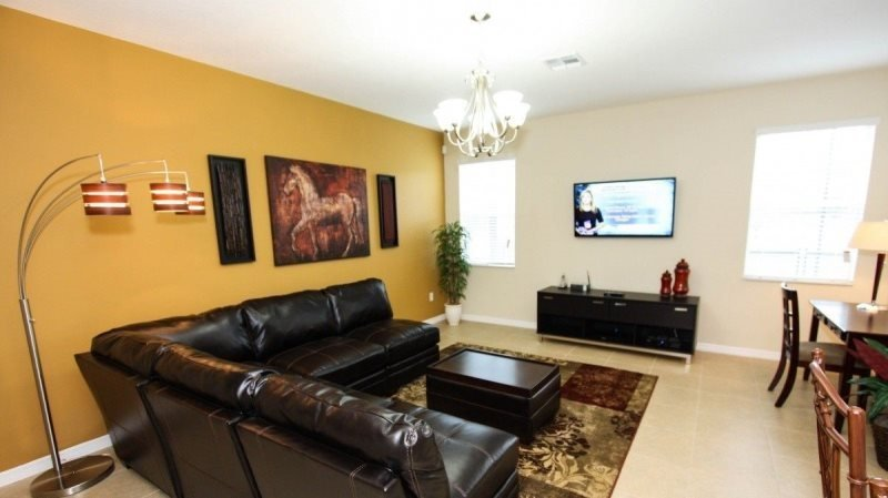 Stunning New 5 Bedroom 4 Bathroom Pool Home in Veranda Palms. 2616SC - Image 1 - Orlando - rentals