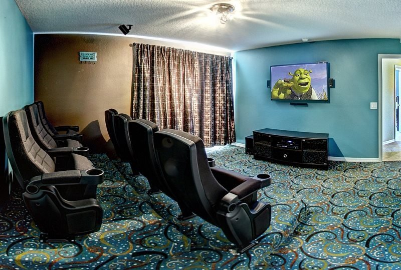 Exclusive 4 Bedroom 3 Bathroom Home With 3-D Movie Theater. 139EP - Image 1 - Orlando - rentals