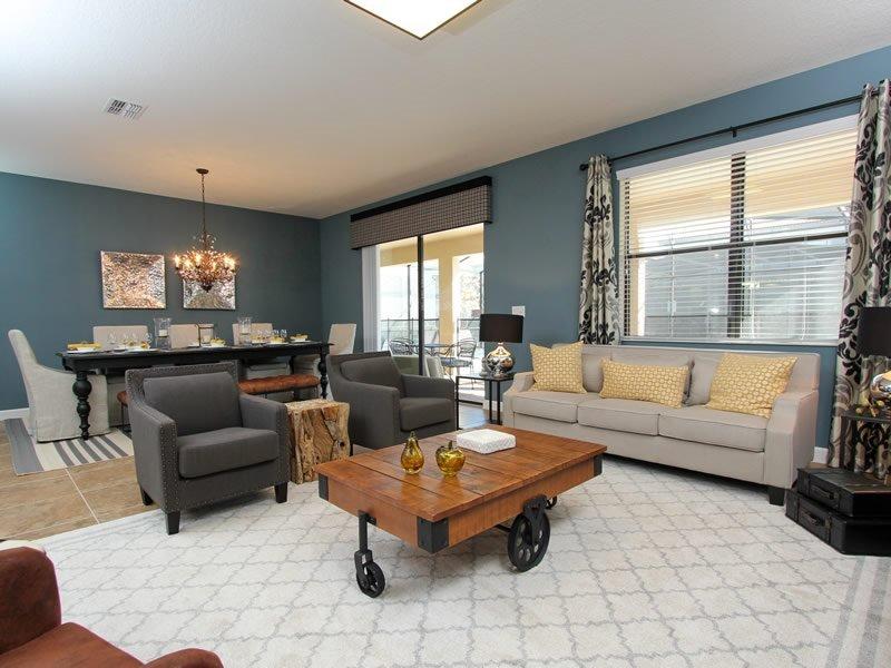 Huge 8 Bed 5 Bath Pool Home in ChampionsGate Resort. 1425TR - Image 1 - Orlando - rentals
