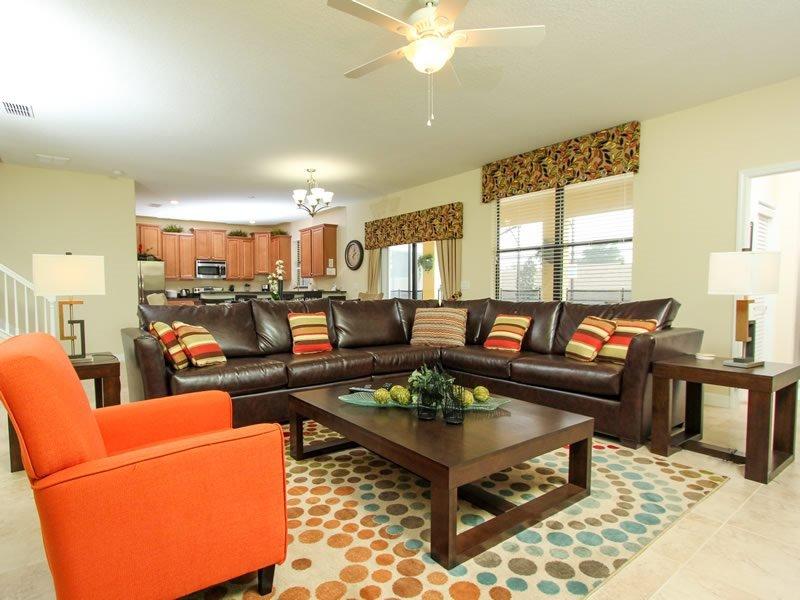 6 Bedroom 6 Bath Pool Home In ChampionsGate Golf Community. 1528MVD - Image 1 - Orlando - rentals