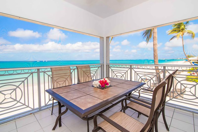 Oceanfront Luxury on SMB :Your Carribean Paradise - Image 1 - Seven Mile Beach - rentals