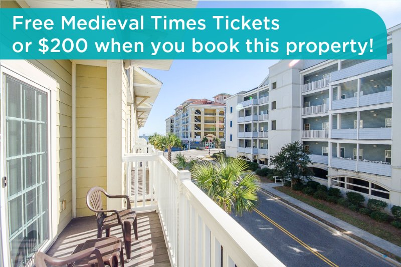 Get free Medieval Times tickets or a $200 prepaid gift card when you book this property! - Huge townhome, great location, across from beach, air hockey table! - Myrtle Beach - rentals