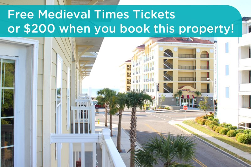 Get free Medieval Times tickets or a $200 prepaid gift card when you book this property! - Huge townhouse for large families; walk to beach; air hockey table! +++ location - Myrtle Beach - rentals