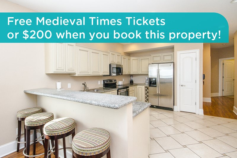 Get free Medieval Times tickets or a $200 prepaid gift card when you book this property! - Ocean 7 #3 - Myrtle Beach - rentals