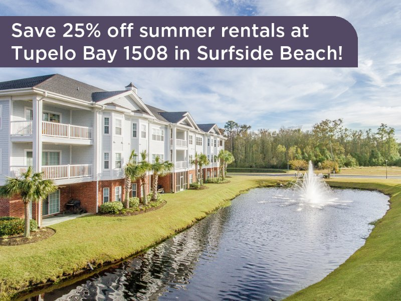 Save 25% on summer rentals at this property! - Golf course condo w/ driving range, night golf, tennis, mini golf! - Garden City - rentals