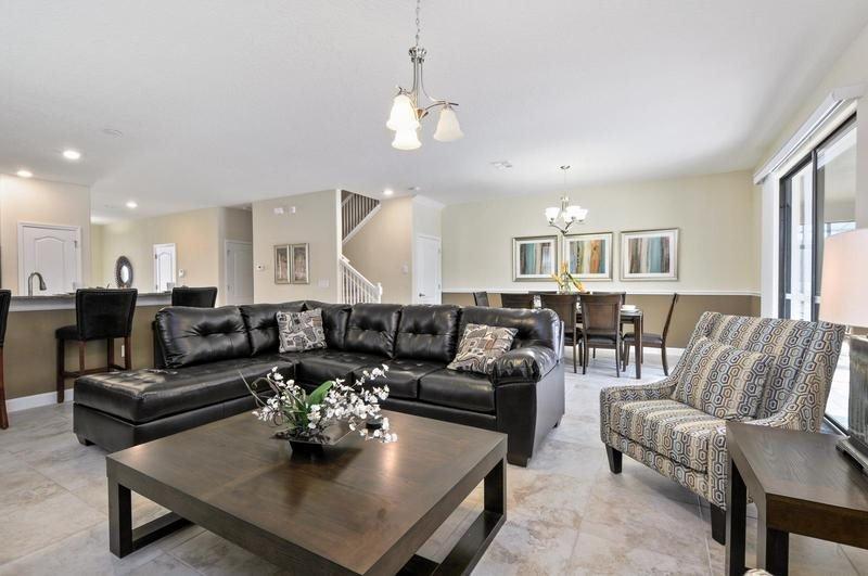 8 Bedroom 5 Bathroom Pool Home with Spa in Champions Gate Golf Resort. 1465BTR - Image 1 - Orlando - rentals