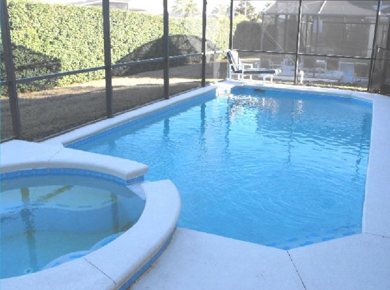 3 Bedroom Florida Vacation Home with Pool, Spa and Games Room. 1608MSD - Image 1 - Four Corners - rentals