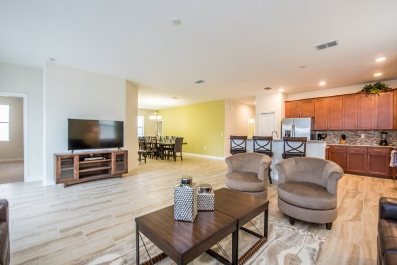 New 4 Bedroom 3 Bath Resort Home in Champions Gate. 9156SD - Image 1 - Four Corners - rentals