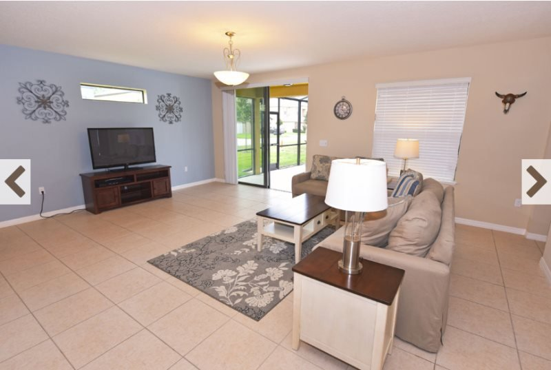 6 Bedroom 4 Bath Pool Home Near Disney. 1174CPB - Image 1 - Davenport - rentals