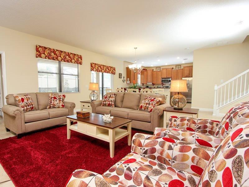 Stunning 6 Bedroom 6 Bathroom Villa at ChampionsGate. 1518MVD - Image 1 - Kissimmee - rentals