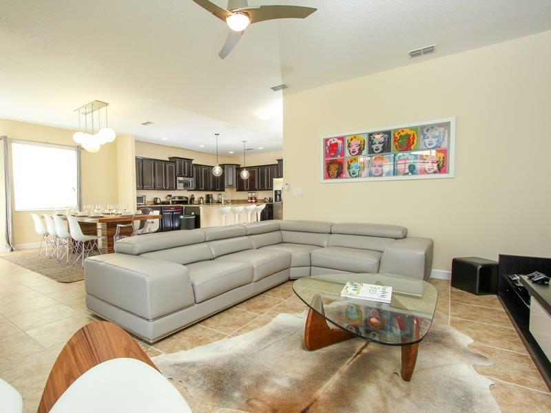6 Bedroom 5 Bath Paradise Palms Resort Pool Home That Sleeps 14 Guests. 2953BPA - Image 1 - Orlando - rentals