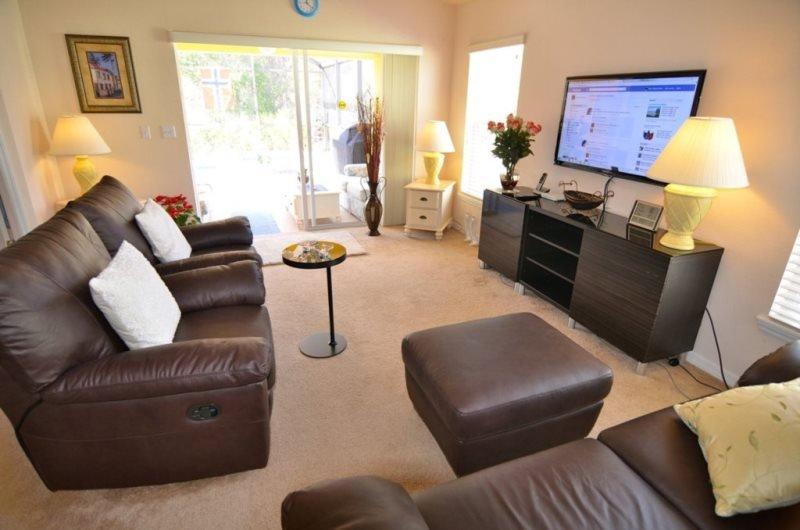 4 Bedroom 3 Bath Villa in Sandy Ridge with South Facing Pool. 821SRD - Image 1 - Orlando - rentals
