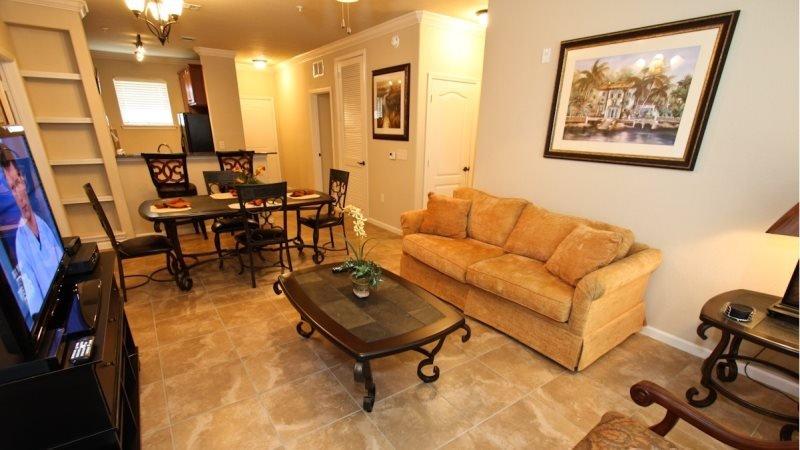 3 Bedroom 3 Bathroom Penthouse Level Condo in Bella Piazza Resort. 906CP-433 - Image 1 - Orlando - rentals