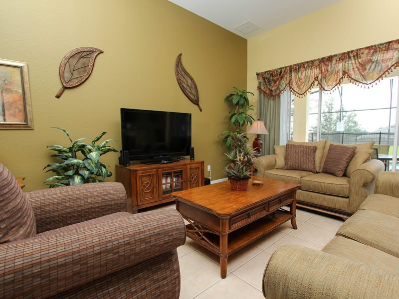 Stunning 5 Bedroom 5 Bath Pool Home With Spa. 2625PS - Image 1 - Orlando - rentals